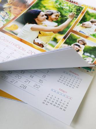 Печать фотокалендарей, заказать календарь с фотографиями